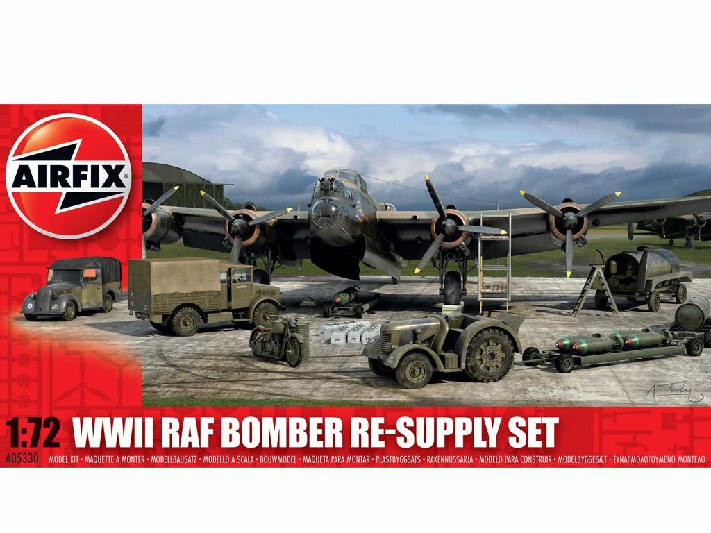 Conjunto de reabastecimiento de bombarderos de la RAF (Vista 1)