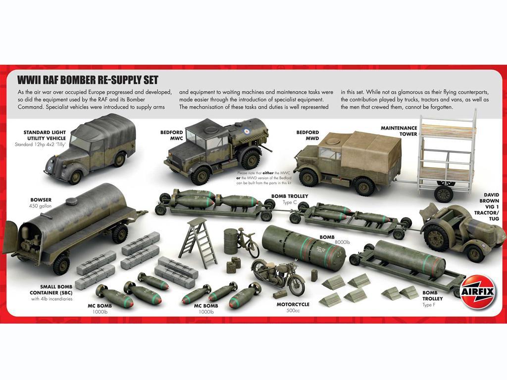 Conjunto de reabastecimiento de bombarderos de la RAF (Vista 2)