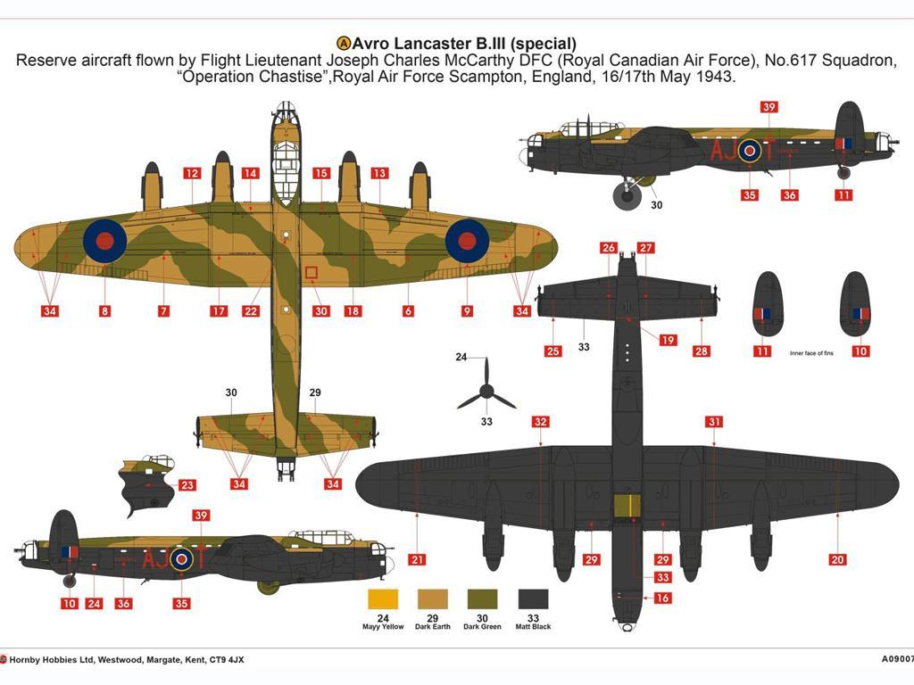 Avro Lancaster B.III (Special) The Dambu (Vista 7)