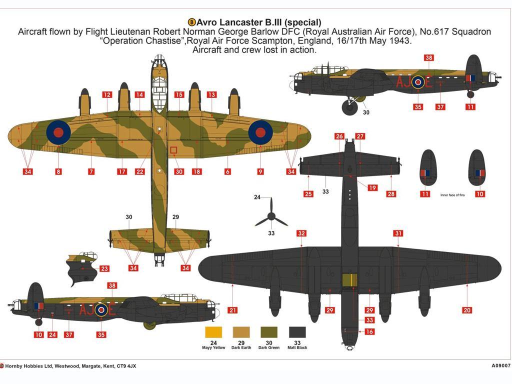 Avro Lancaster B.III (Special) The Dambu (Vista 8)