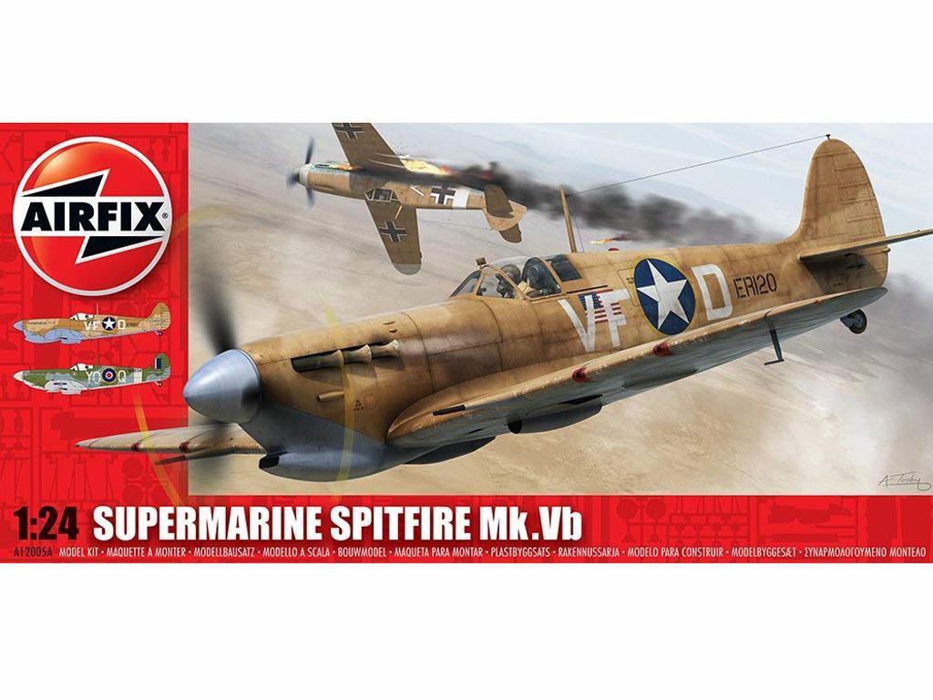 Supermarine Spitfire MkVb (Vista 1)