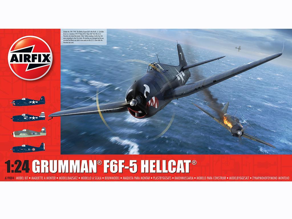 Grumman F6-F5 Hellcat (Vista 1)