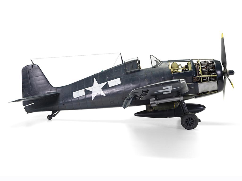 Grumman F6-F5 Hellcat (Vista 2)