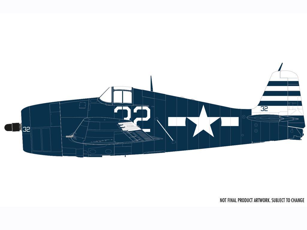 Grumman F6-F5 Hellcat (Vista 4)