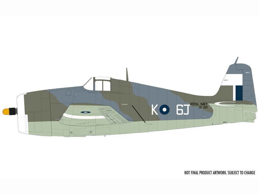 Grumman F6-F5 Hellcat (Vista 5)