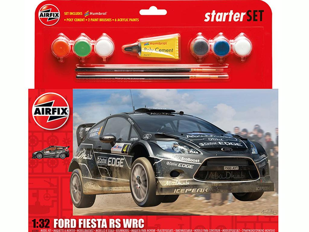 Ford Fiesta WRC Starter Set (Vista 1)