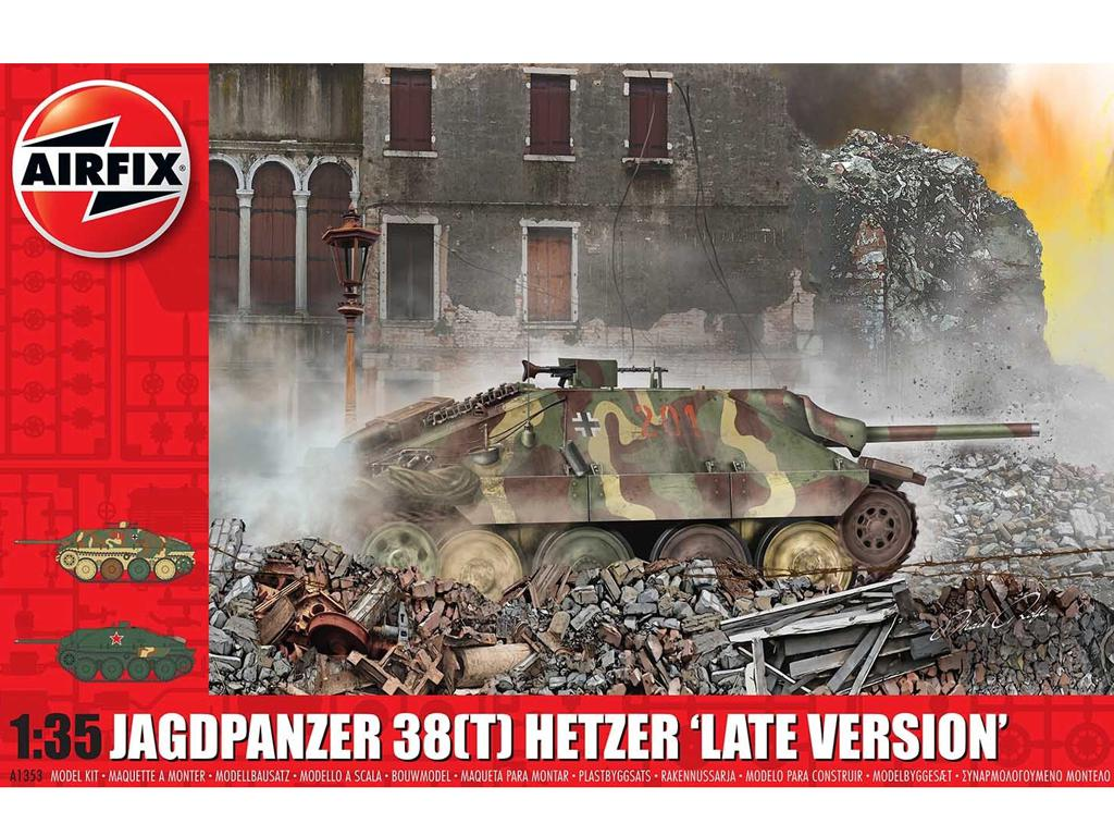 JagdPanzer 38 tonne Hetzer, Late Version (Vista 1)
