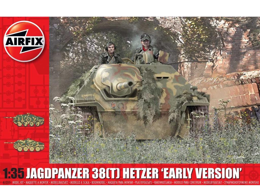 JagdPanzer 38 tonne Hetzer Early Version (Vista 1)