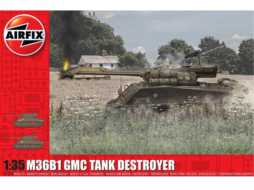 M36B1 GMC U.S. Army (Vista 1)