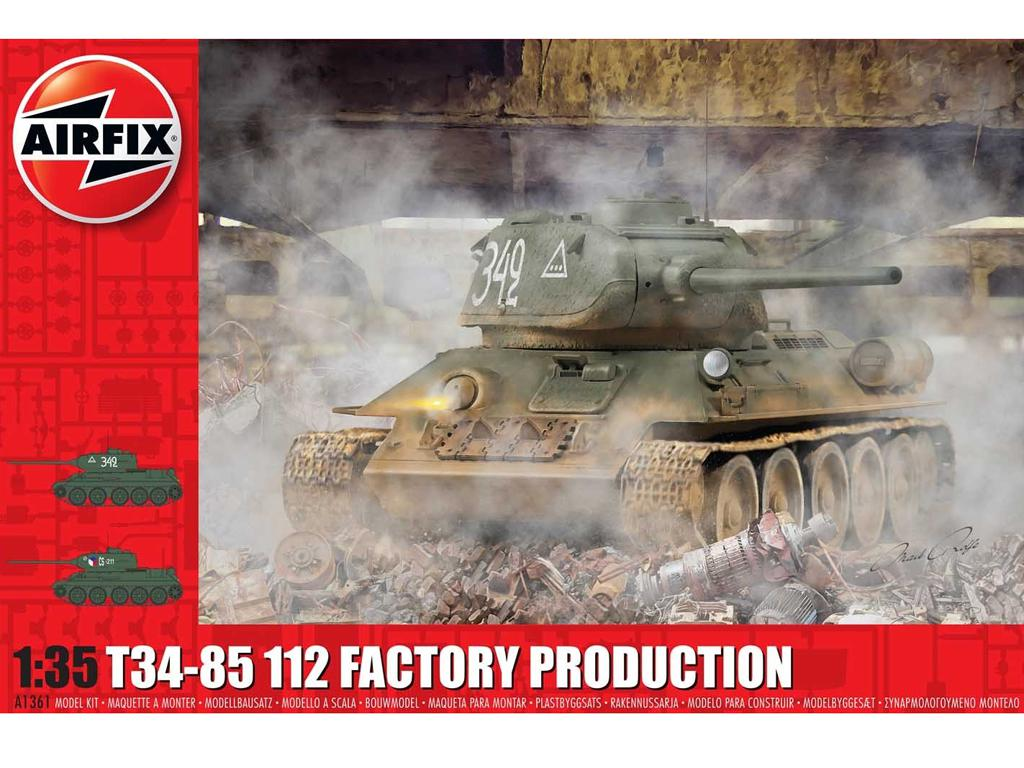 T34/85 II2 Factory Production (Vista 1)