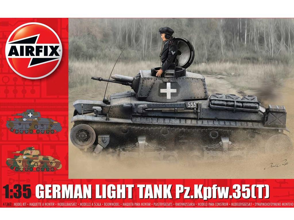 German Light Tank Pz.Kpfw.35(t) (Vista 1)