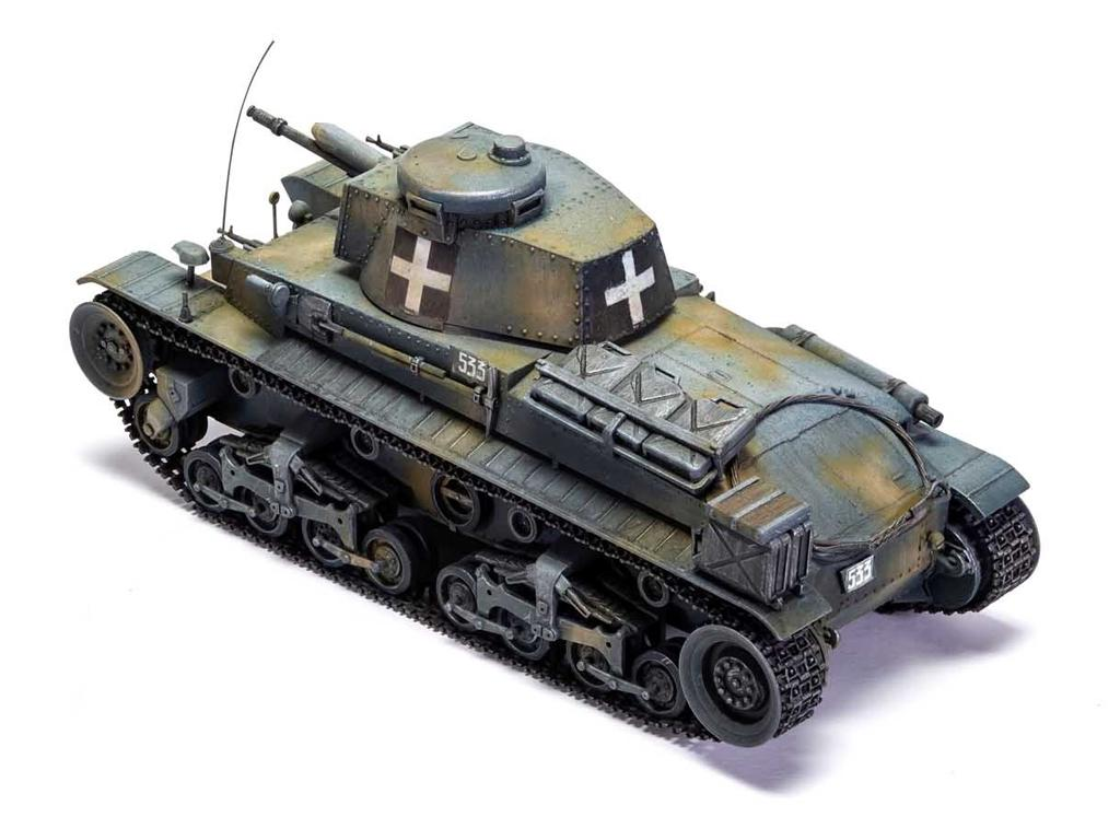 German Light Tank Pz.Kpfw.35(t) (Vista 3)