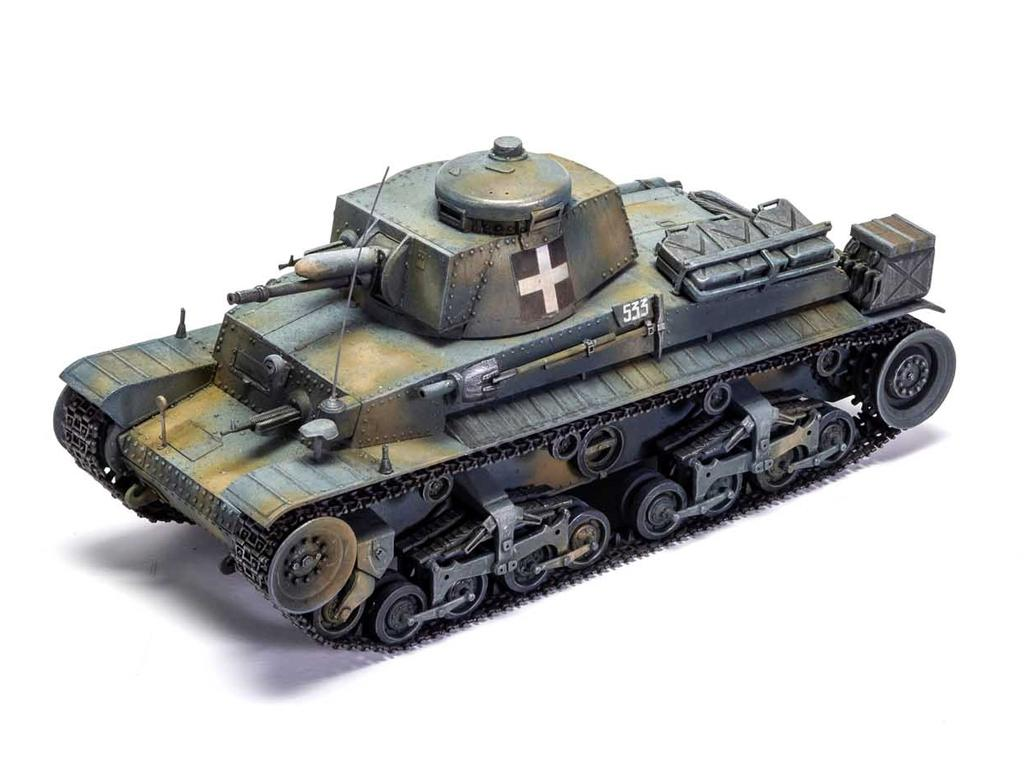 German Light Tank Pz.Kpfw.35(t) (Vista 4)