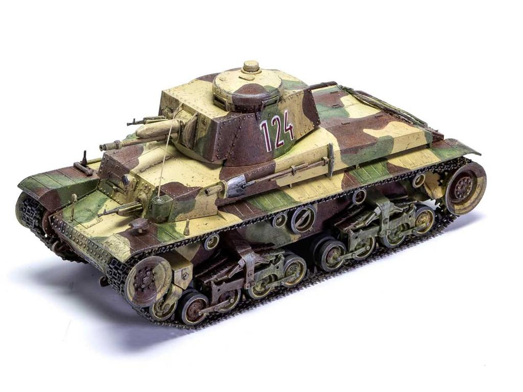 German Light Tank Pz.Kpfw.35(t) (Vista 5)