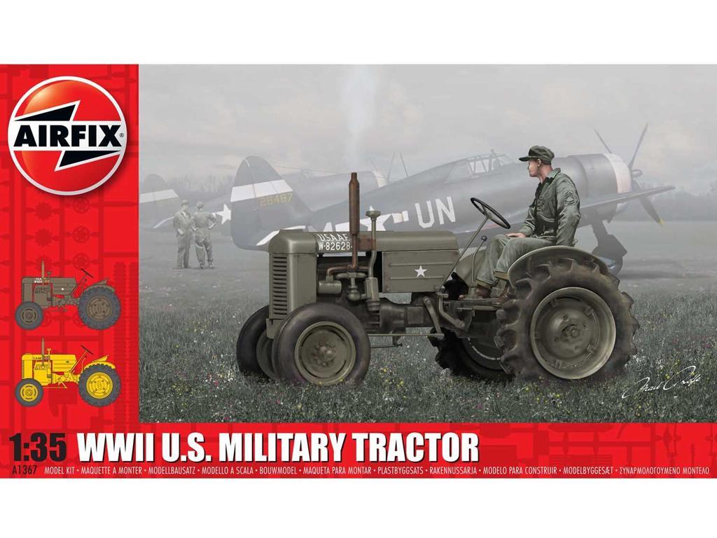 U.S. Military Tractor (Vista 1)