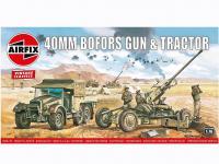 Bofors 40mm Gun and Tractor (Vista 2)