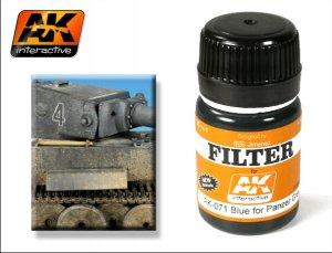 Filtro Azul Para Panzer Grey  (Vista 1)