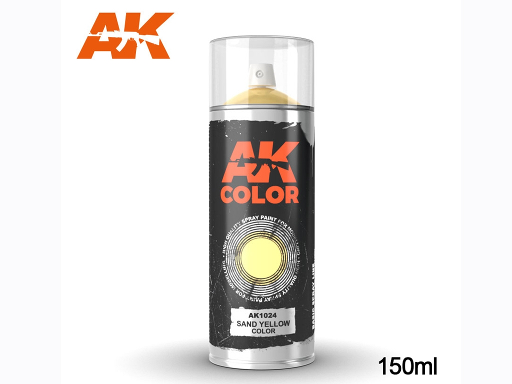 Spray Color Amarillo Arena