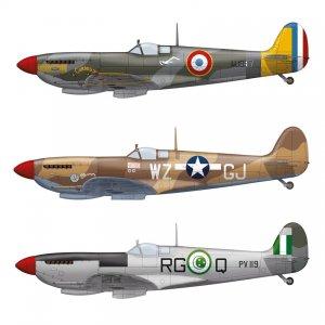 Spitfire MK. IXC Late  (Vista 2)