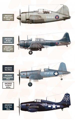 US Navy and USMC Aircraft Colors  (Vista 2)
