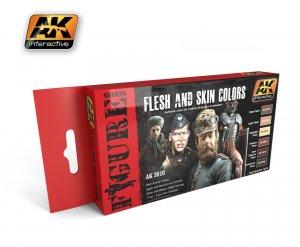 Set de colores piel - Ref.: AKIN-3010
