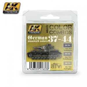 German Standard 37-44 Color Combo  (Vista 1)