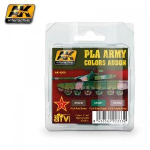 Pla Army Colors Addon colors set  (Vista 1)
