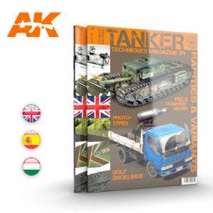 Tanker 09 , Rarezas y Variantes  (Vista 1)