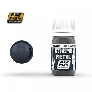 Metal Azul Electrico  (Vista 1)