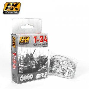 Cadenas T-34 M-1942-45 Waffle - Ref.: AKIN-683