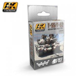 T-55, T-62 TANQUE RUSO  (Vista 1)