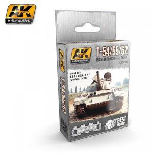 T-54, T-55, T-62 Tanque Ruso  (Vista 1)
