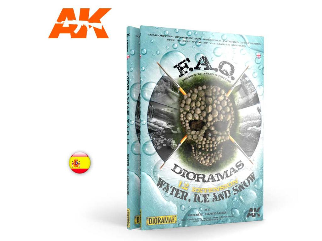F.A.Q. Dioramas 1.2 - Agua, Hielo y Niev - Ref.: AKIN-8051