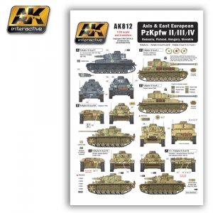 Axis & East European PzKpfw II/III/IV  (Vista 1)