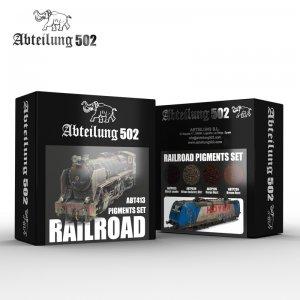 Railroad Pigments Set  (Vista 1)