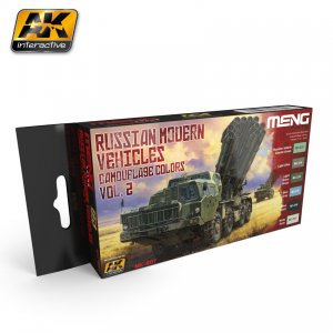 Vehiculos Rusos Modernos Set 2 - Ref.: AKIN-MC807