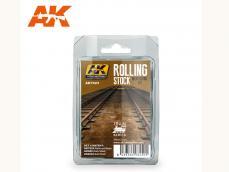 Vias de Tren - Ref.: AKIN-7023
