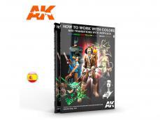 Como Trabajar con Colores y Transiciones con Acrilicos - Ref.: AKIN-AK294