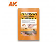 Espuma para tallar 10 mm tamaño A4 - Ref.: AKIN-AK8092