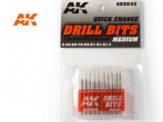 Brocas de carburo - Ref.: AKIN-AK9043