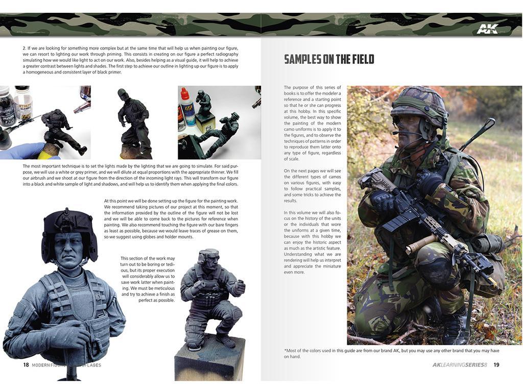 Camuflajes Modernos para Figuras (Vista 2)