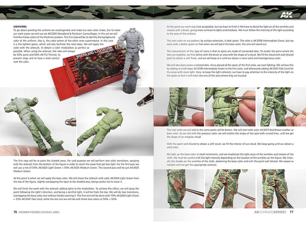 Camuflajes Modernos para Figuras (Vista 3)
