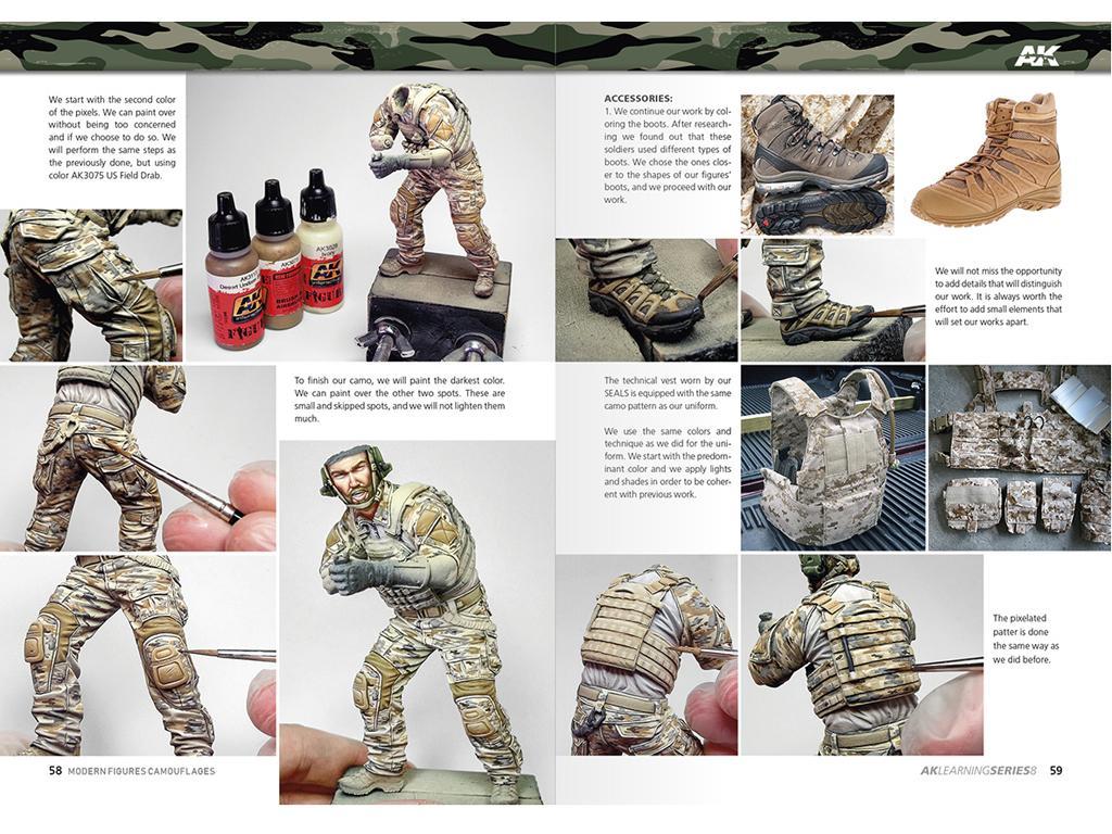 Camuflajes Modernos para Figuras (Vista 4)