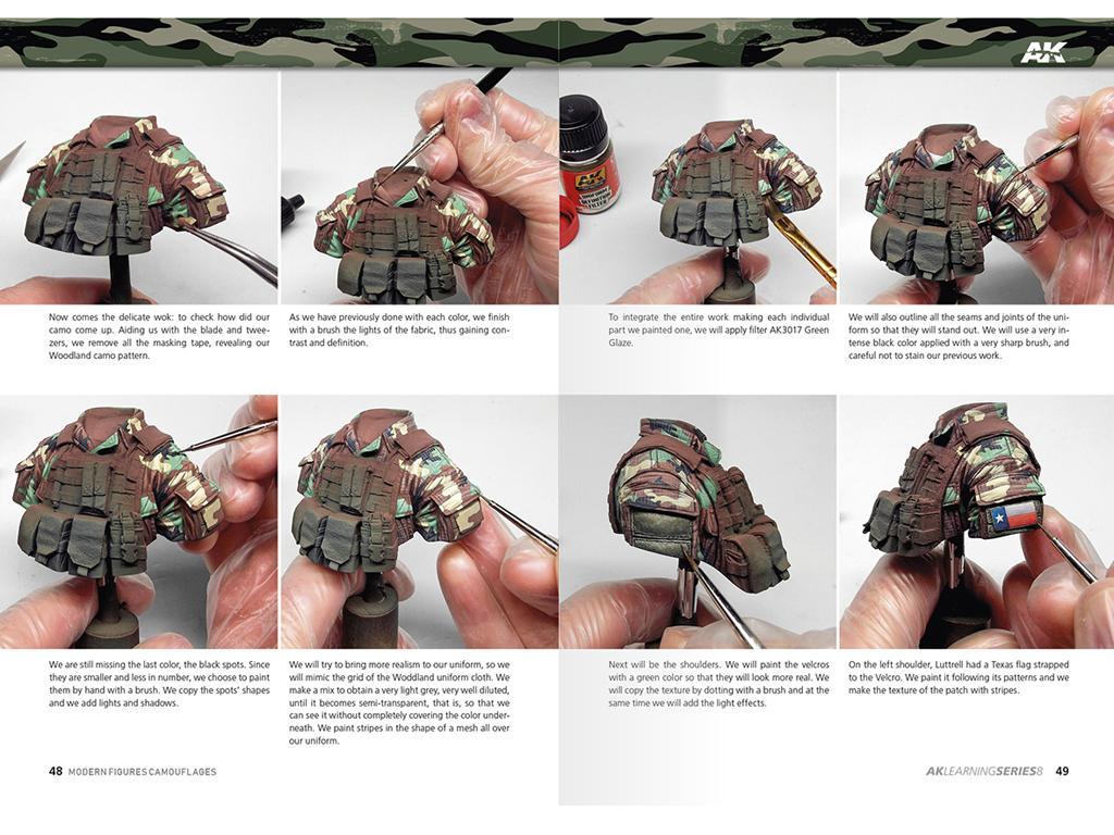 Camuflajes Modernos para Figuras (Vista 5)
