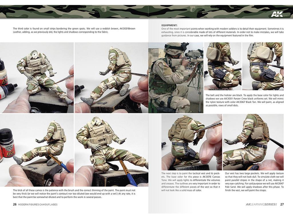 Camuflajes Modernos para Figuras (Vista 7)