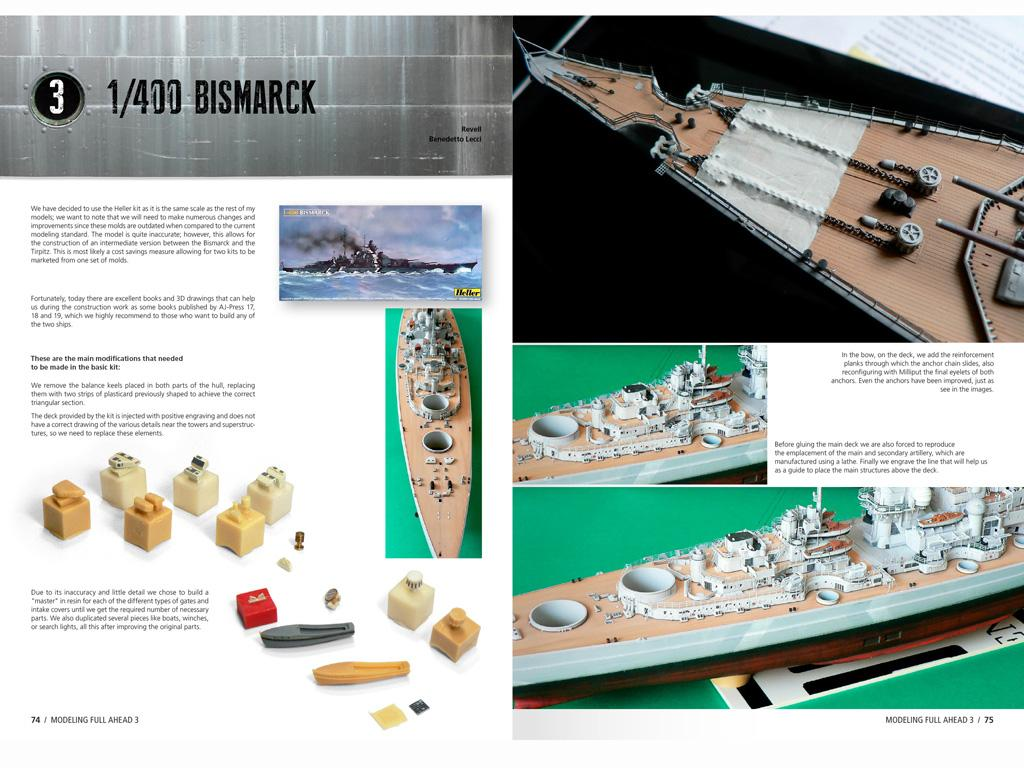 Modelling Full Ahead Nº3 (Vista 2)