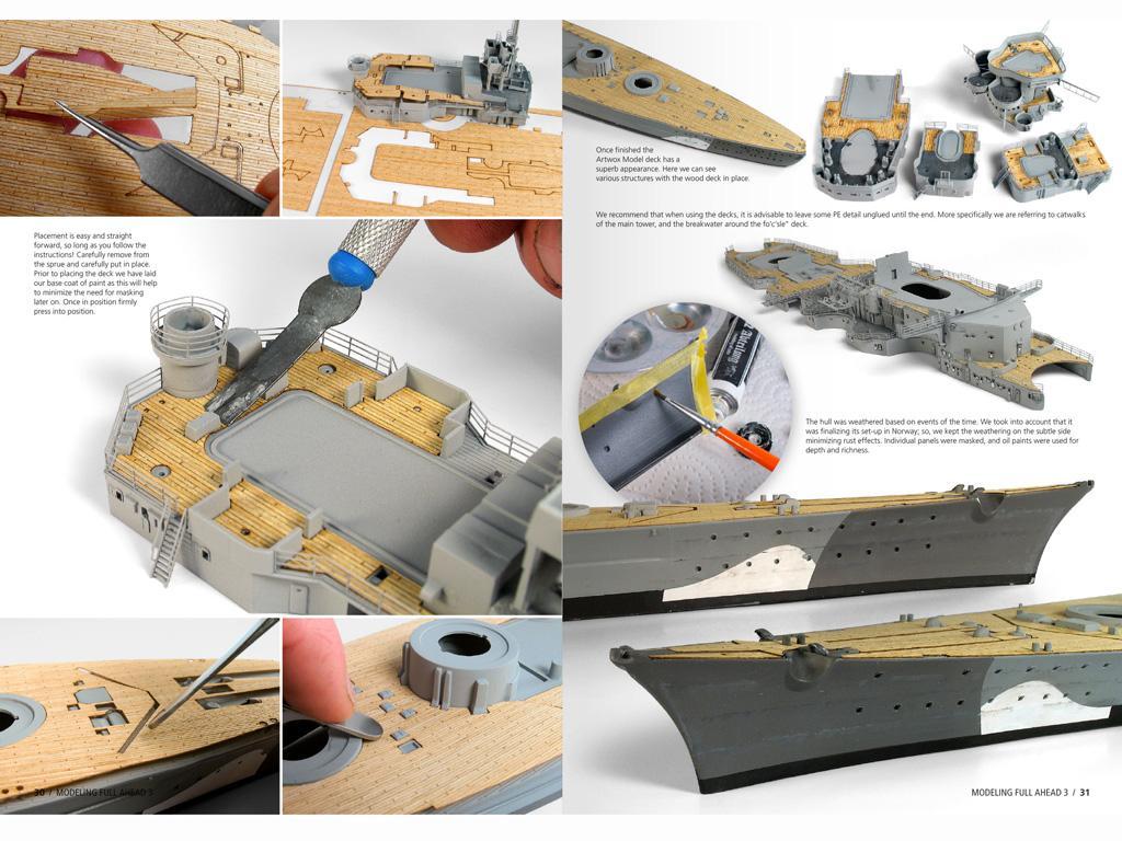 Modelling Full Ahead Nº3 (Vista 6)