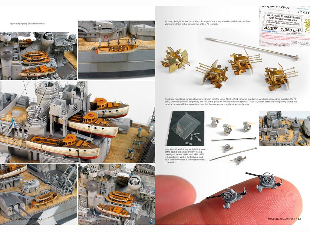 Modelling Full Ahead Nº3 (Vista 9)