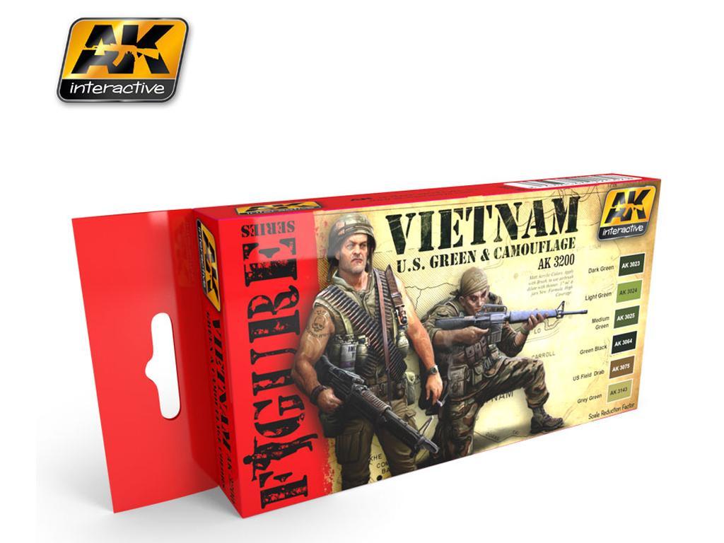 Vietnam U.S. Green & Camuflage (Vista 1)