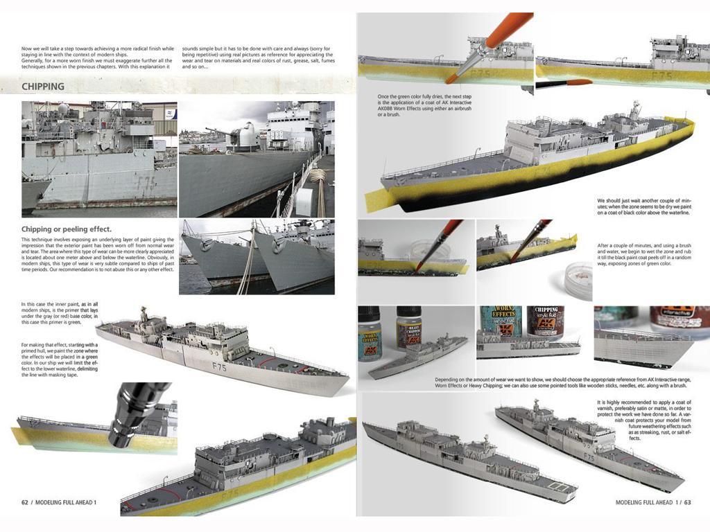 Modelling Full Ahead Knox & Clase Balear (Vista 2)